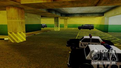 Veículos novos no LVPD para GTA San Andreas sétima tela