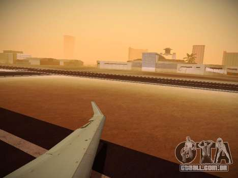 Bombardier CRJ-700 Delta Connection para vista lateral GTA San Andreas