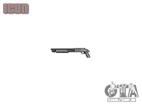 Riot espingarda Mossberg 500 icon1 para GTA 4 terceira tela