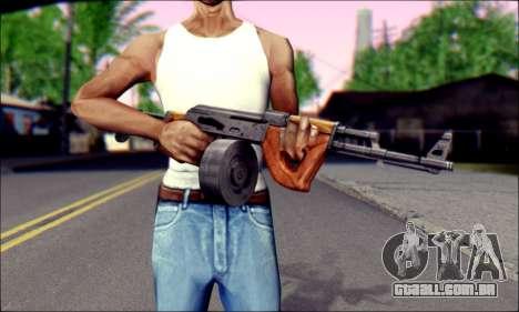 Importado AK para GTA San Andreas terceira tela