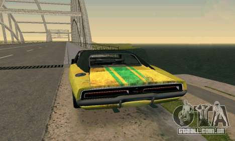 Dodge Charger HL2 EP2 para GTA San Andreas esquerda vista