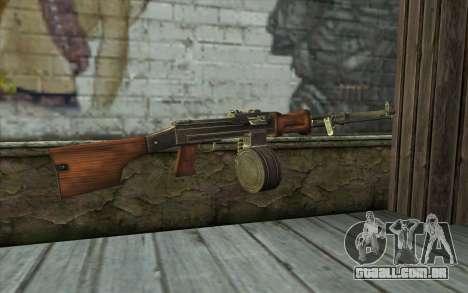 РПД de Battlefield: Vietnam para GTA San Andreas segunda tela