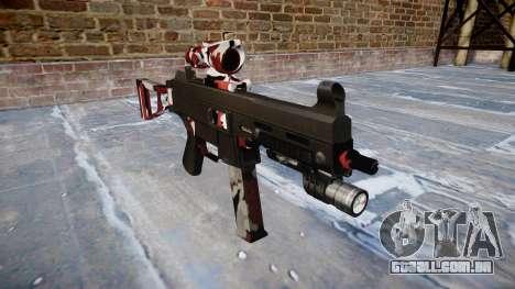 Arma UMP45 estão vermelhos para GTA 4