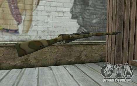 O Mosin-v4 para GTA San Andreas segunda tela