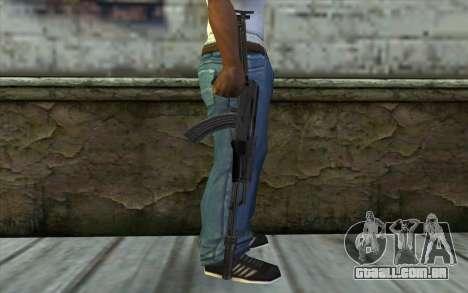 AKMS com CBE para GTA San Andreas terceira tela