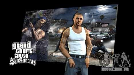 Os ecrãs de carregamento para GTA San Andreas