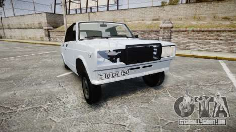 ВАЗ-2107 Avtosh Estilo para GTA 4