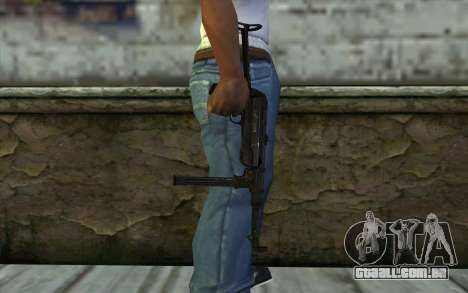 MP40 para GTA San Andreas terceira tela