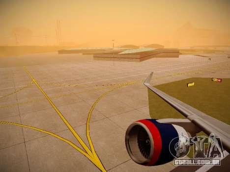 Boeing 757-232 Delta Airlines para as rodas de GTA San Andreas