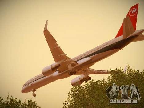 Boeing 757-251 Northwest Airlines para o motor de GTA San Andreas