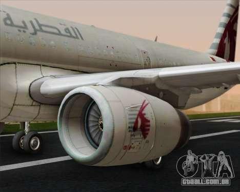 Airbus A321-200 Qatar Airways para o motor de GTA San Andreas