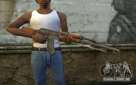 Тип 56 (АКМ) de Battlefield: Vietnam para GTA San Andreas terceira tela