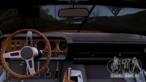 Dodge Challenger 426 Hemi (JS23) 1970 (HQLM) para GTA San Andreas vista direita