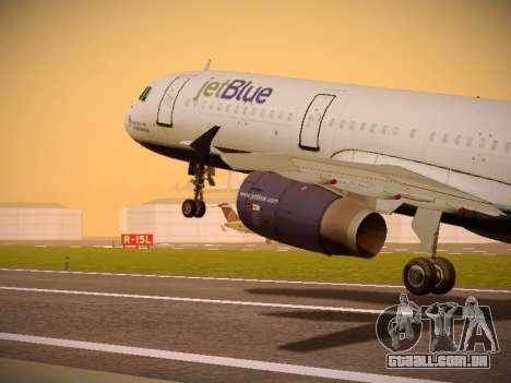 Airbus A321-232 Lets talk about Blue para GTA San Andreas
