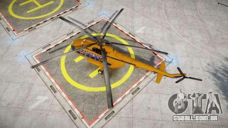 Mi-8 para GTA 4 vista direita