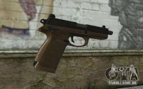 FN FNP-45 Sem Silenciador para GTA San Andreas segunda tela