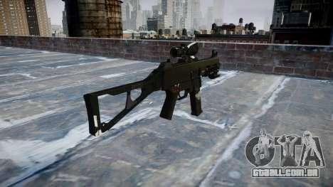 Arma UMP45 Fantasmas para GTA 4 segundo screenshot
