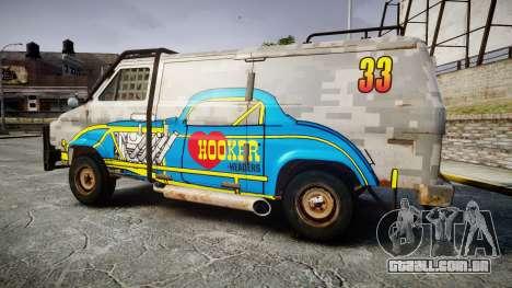 Kessler Stowaway Hooker Headers para GTA 4 esquerda vista