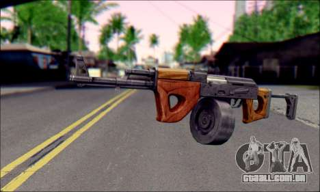 Importado AK para GTA San Andreas