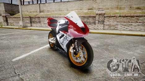 Daytona 675R 2011 para GTA 4