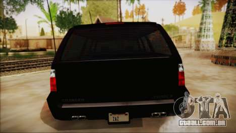 GTA 5 FIB Granger para GTA San Andreas vista direita