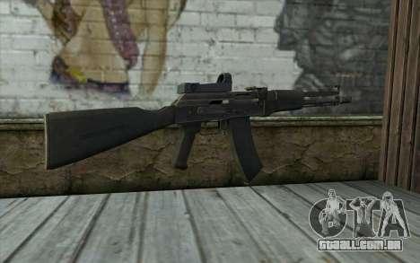 AK-107 para GTA San Andreas segunda tela