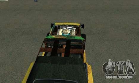 Dodge Charger HL2 EP2 para GTA San Andreas traseira esquerda vista