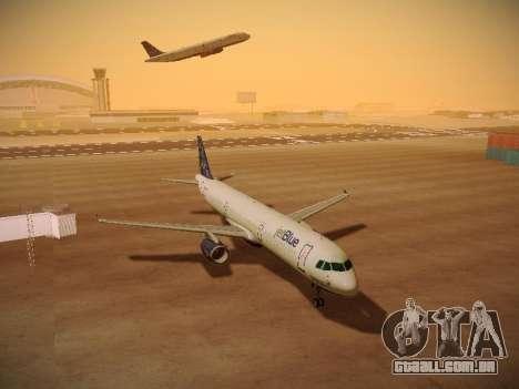Airbus A321-232 Lets talk about Blue para GTA San Andreas vista inferior