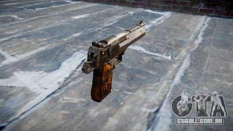 Pistola Desert Eagle Dragão para GTA 4 segundo screenshot