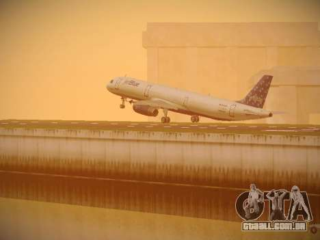 Airbus A321-232 Lets talk about Blue para as rodas de GTA San Andreas