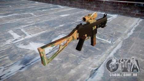 Arma UMP45 Selva para GTA 4 segundo screenshot