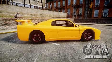Livraga 350 para GTA 4 esquerda vista