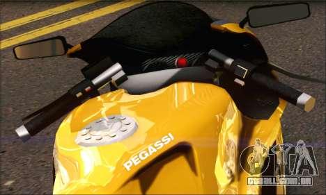 GTA 5 Pegassi Bati 801 para GTA San Andreas traseira esquerda vista