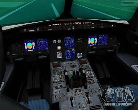 Airbus A321-200 Qatar Airways para GTA San Andreas interior