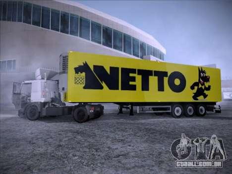 Trailer NETTO para GTA San Andreas