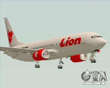 Boeing 737-800 Lion Air para GTA San Andreas