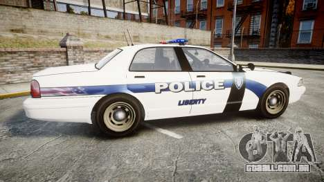 GTA V Vapid Cruiser LP [ELS] para GTA 4 esquerda vista