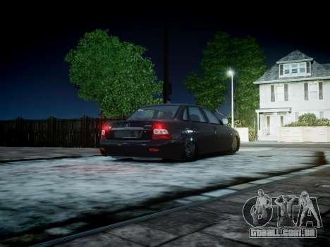 VAZ 2170 para GTA 4 vista direita