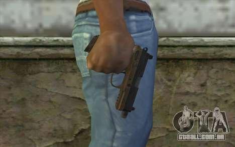 FN FNP-45 Sem Silenciador para GTA San Andreas terceira tela