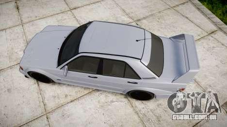 Mercedes-Benz 190E Evolution II para GTA 4 vista direita