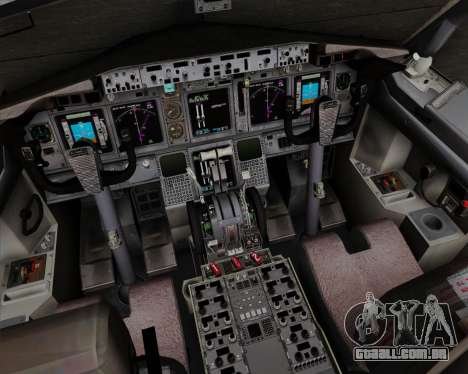 Boeing 737-800 World Travel Airlines (WTA) para GTA San Andreas interior