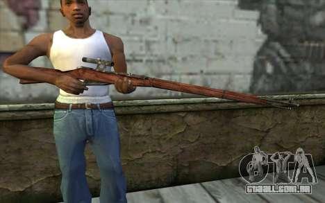 A Mosin (Battlefield: Vietnam) para GTA San Andreas terceira tela