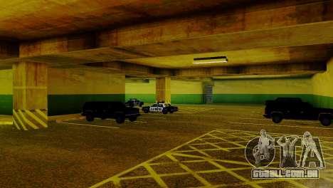 Veículos novos no LVPD para GTA San Andreas quinto tela