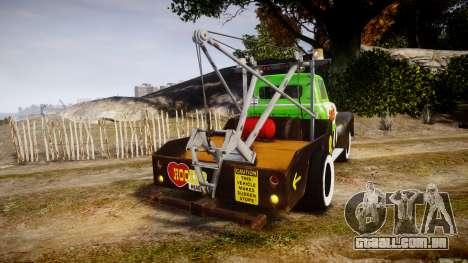 DMG Titan [EPM] Hooker Headers para GTA 4 traseira esquerda vista