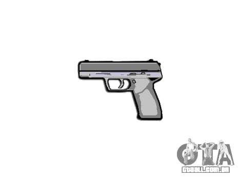 Pistola Taurus 24-7 preto icon3 para GTA 4 terceira tela
