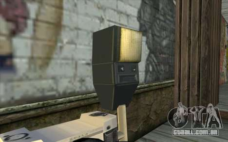 Camera from Beta Version para GTA San Andreas terceira tela