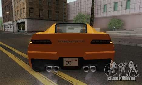 GTA 5 Invetero Coquette (IVF) para GTA San Andreas vista direita
