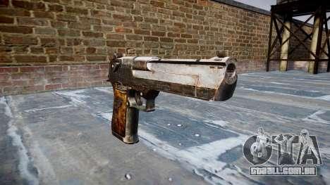 Pistola Desert Eagle Dragão para GTA 4