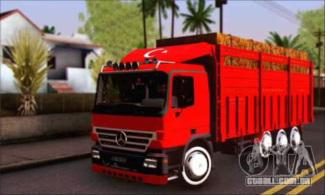 Mercedes-Benz Actros 40 Ayak para GTA San Andreas