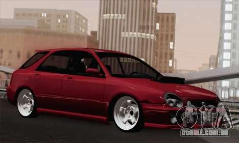 Subaru Impreza Wagon 2002 para GTA San Andreas